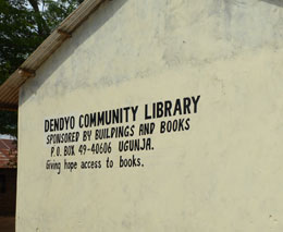 Buildings & Books Dendyo Library